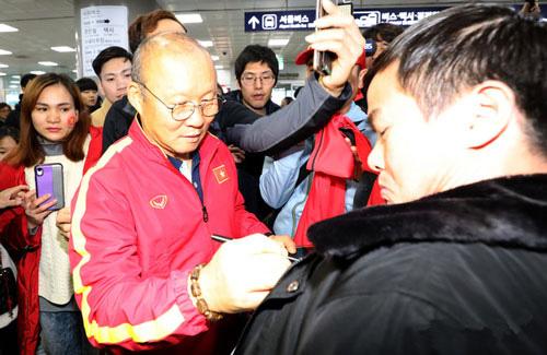 U23 Việt Nam chọn Hàn Quốc để hồi phục thể lực - Ảnh 1.