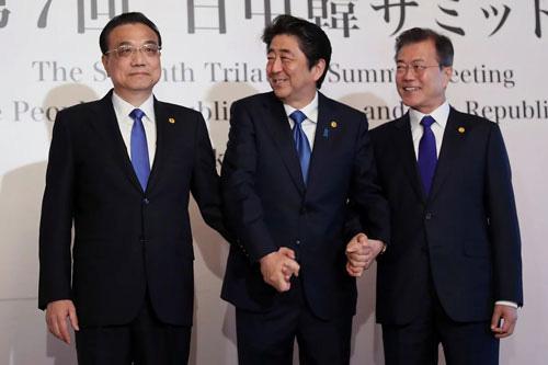 Tìm đột phá tại thượng đỉnh Trung - Nhật - Hàn - Ảnh 1.