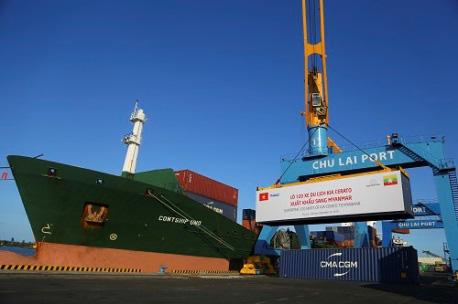 Thaco xuất khẩu 120 xe du lịch kia sang Myanmar - Ảnh 1.