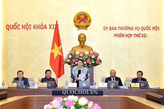 Chủ tịch QH Nguyễn Thị Kim Ngân nêu lý do rút 5 nội dung khỏi phiên họp Thường vụ - Ảnh 1.