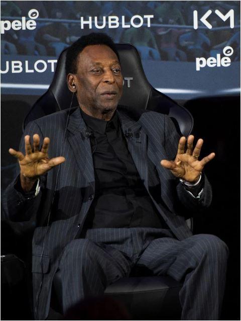 Huyền thoại bóng đá Pele nhập viện ở tuổi 78 - Ảnh 1.
