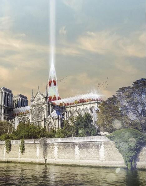 Choáng với những mẫu thiết kế Nhà thờ Đức Bà Paris - Ảnh 3.