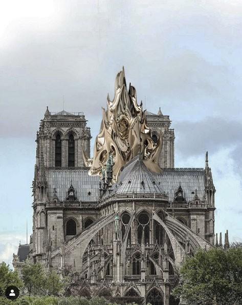 Choáng với những mẫu thiết kế Nhà thờ Đức Bà Paris - Ảnh 7.