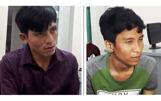 2 kẻ dùng súng cướp trạm thu phí vốn đã từng ngồi tù - Ảnh 1.