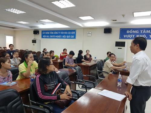 66 công nhân tham gia thi nâng bậc - Ảnh 1.