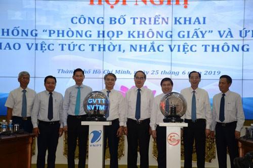 TP HCM triển khai 2 ứng dụng thông minh - Ảnh 1.