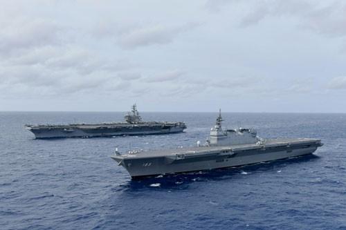Mỹ - Philippines phản ứng hành vi dọa nạt của Trung Quốc - Ảnh 1.