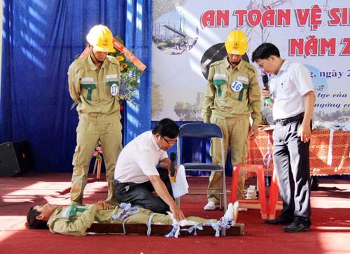 Tập huấn an toàn lao động cho cán bộ Công đoàn - Ảnh 1.