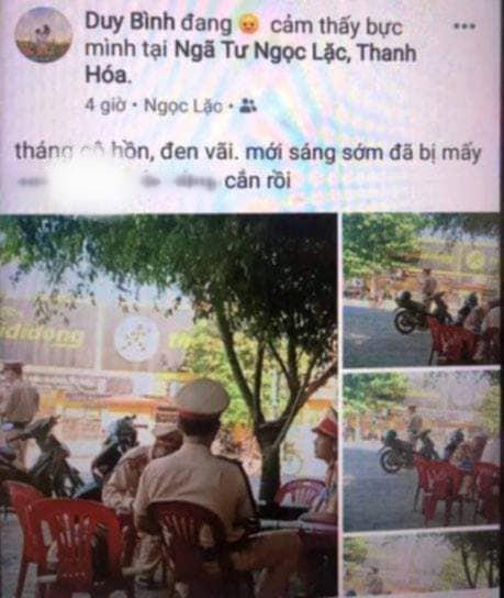 Vi phạm giao thông, xin không được liền chụp ảnh tung lên Facebook xúc phạm CSGT - Ảnh 2.
