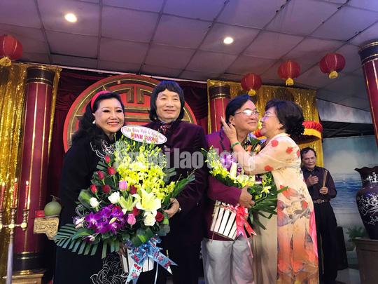 NSND Minh Vương tri ân đồng nghiệp trong ngày giỗ Tổ sân khấu - Ảnh 8.