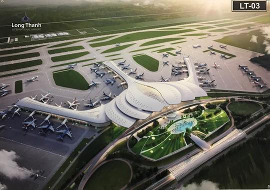 Dự án Sân bay Long Thành được bố trí 11.490 tỉ đồng, chỉ mới tiêu được 300 tỉ - Ảnh 1.