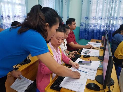Ứng dụng công nghệ quản lý đoàn viên - Ảnh 1.
