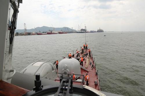 Những hình ảnh ban đầu về diễn tập hải quân Mỹ-ASEAN - Ảnh 11.
