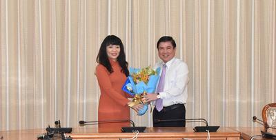 Sở Tài chính TP HCM có tân giám đốc - Ảnh 2.