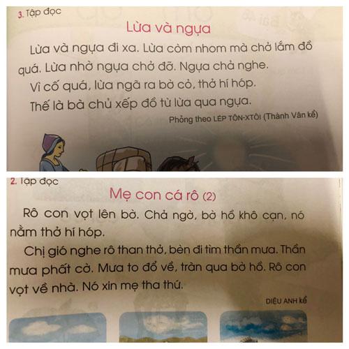 Sách giáo khoa Tiếng Việt lớp 1 đầy sạn: Hãy để xã hội kiểm định, lựa chọn sách giáo khoa! - Ảnh 1.