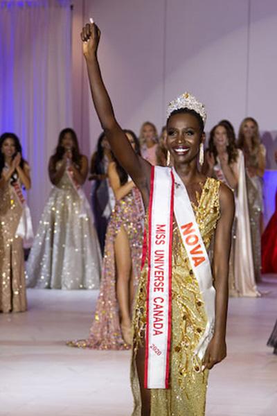 Tân Hoa hậu Hoàn vũ Canada bị chê về nhan sắc - Ảnh 2.