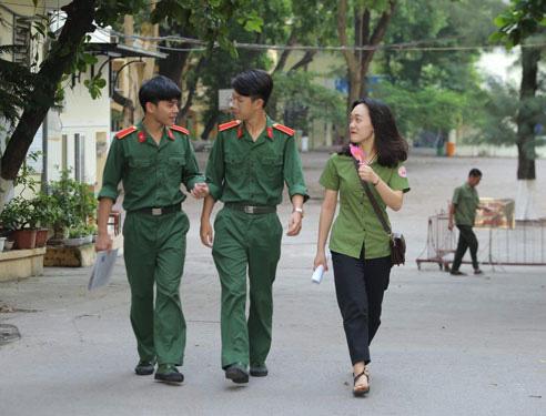 Được điều chỉnh nguyện vọng khi xét tuyển vào trường quân đội - Ảnh 1.