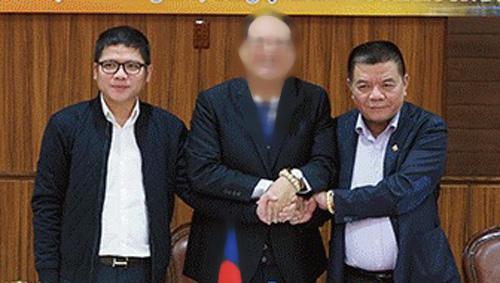 Kê biên khối tài sản hàng trăm tỉ đồng của cha con ông Trần Bắc Hà - Ảnh 1.