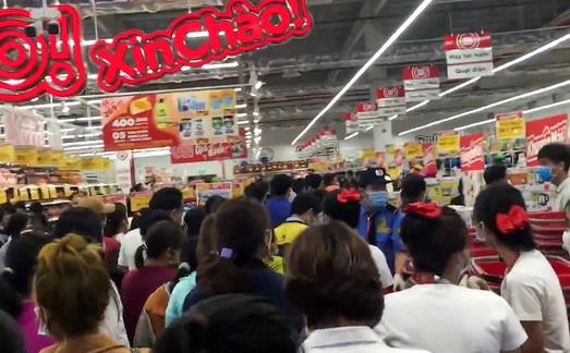 Siêu thị Big C Go Quảng Ngãi tạm dừng hoạt động, sau sự kiện khai trương tụ tập đông người - Ảnh 1.