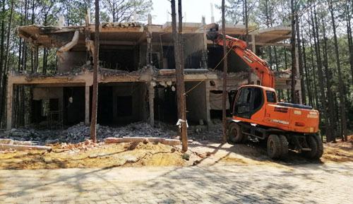 Xử lý công trình sai phạm ở hồ Tuyền Lâm - Ảnh 1.
