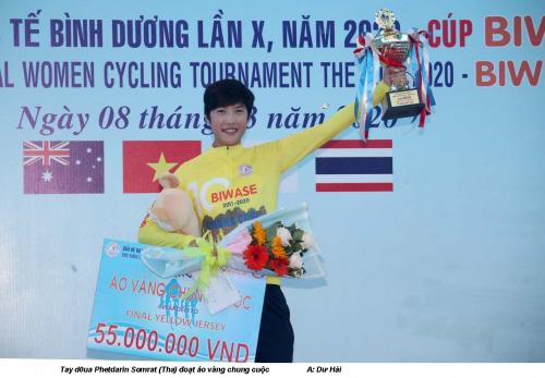 Phetdarin Somrat đoạt áo vàng chung cuộc Biwase 2020 - Ảnh 3.