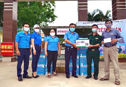 Quảng Bình: Hơn 1,3 tỉ đồng hỗ trợ công tác phòng chống dịch - Ảnh 1.