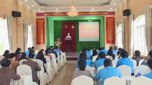 Lâm Đồng: Nâng cao kiến thức cán bộ Công đoàn - Ảnh 1.