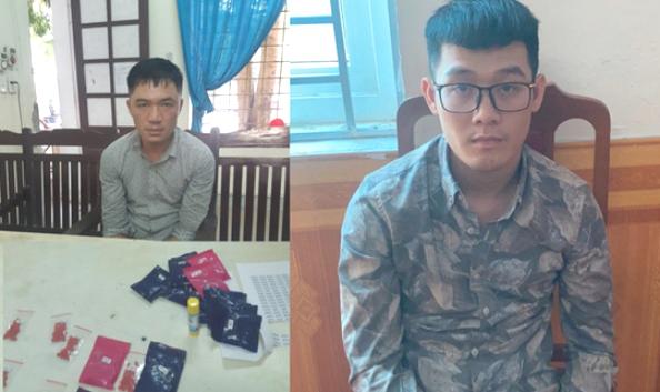 Mang balô chứa 6.000 viên ma túy bắt xe khách từ Nghệ An đi Huế - Ảnh 1.
