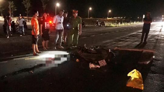 Đà Nẵng: Nam công nhân tử vong trên đường đi làm ca đêm - Ảnh 1.