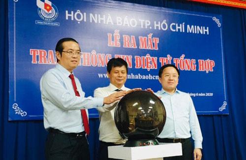 Hội Nhà báo TP HCM ra mắt trang thông tin điện tử - Ảnh 1.