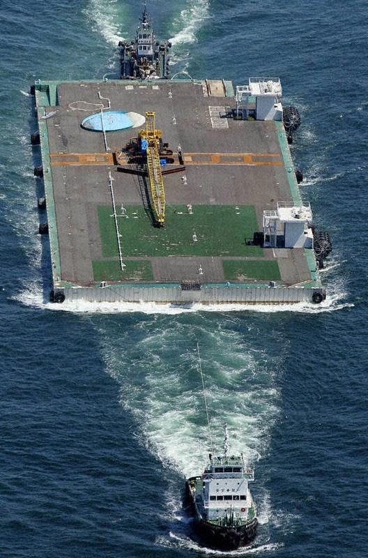 Nhật Bản tính đưa hệ thống phòng thủ tên lửa lên đảo nổi - Ảnh 1.