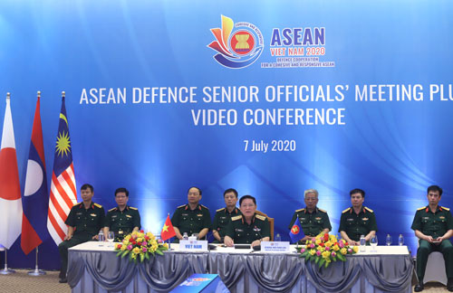 Quan chức quốc phòng ADSOM+ quan ngại tình hình biển Đông - Ảnh 1.