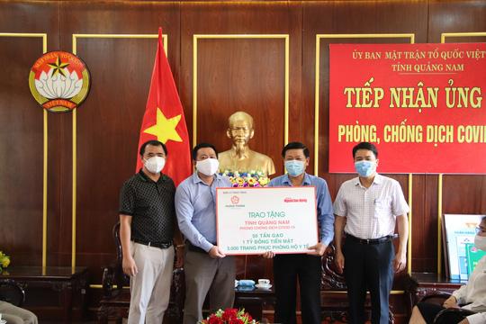 Đà Nẵng, Quảng Nam tiếp nhận hỗ trợ từ Tập đoàn Hưng Thịnh thông qua Báo Người Lao Động - Ảnh 2.