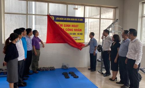 Hà Nội: Ra mắt điểm sinh hoạt văn hóa công nhân - Ảnh 1.
