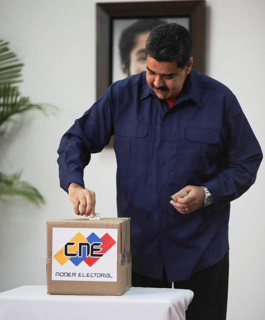 Tổng thống Venezuela: C