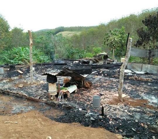 Bố mẹ đi làm, 2 con nghịch lửa làm cháy nhà và thương vong - Ảnh 1.