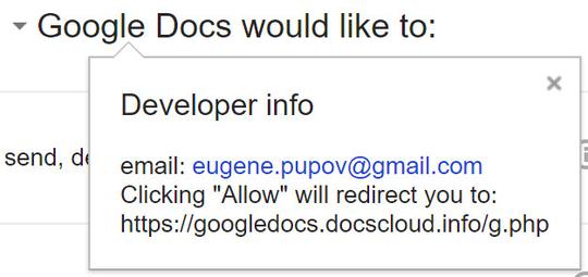 Cẩn thận link mời soạn thảo tài liệu trên Google Docs qua email