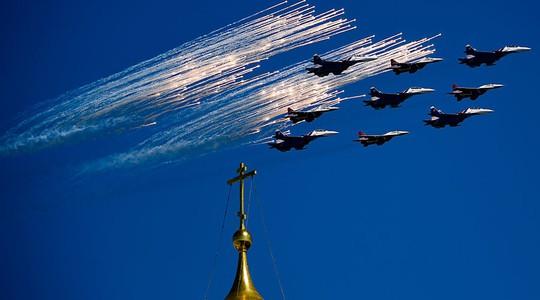 Xem trực tiếp Nga duyệt binh lớn kỷ niệm Ngày Chiến thắng
