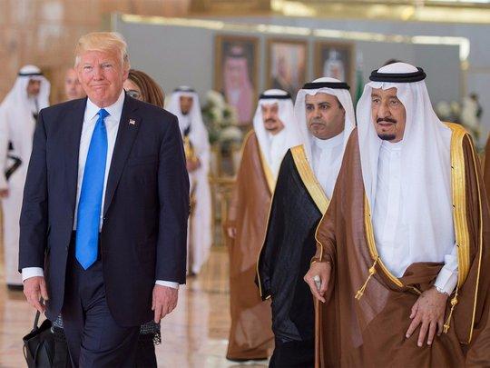 Sự thật về hợp đồng vũ khí 110 tỉ USD giữa Mỹ và Ả Rập Saudi - Ảnh 1.