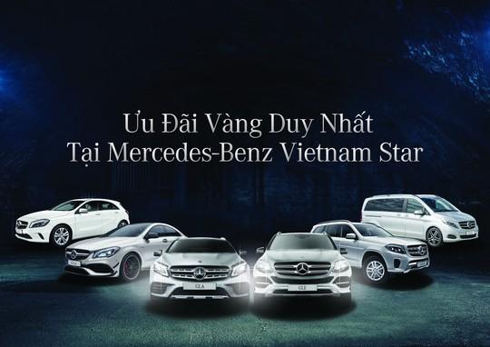 Ưu đãi vàng duy nhất tại Mercedes-Benz Vietnam Star - Ảnh 1.