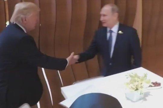 Tổng thống Mỹ - Nga lần đầu gặp nhau - Ảnh 2.