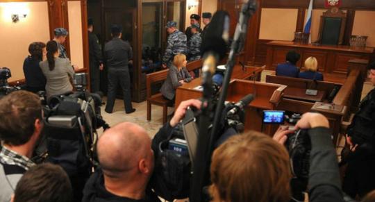 Nga: Bị cáo cướp súng ở tòa án, 4 người chết - Ảnh 1.