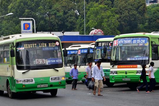 Nhiều HTX vận tải ở TP HCM đã khẳng định được vai trò trong vận chuyển hành khách công cộng Ảnh: TẤN THẠNH