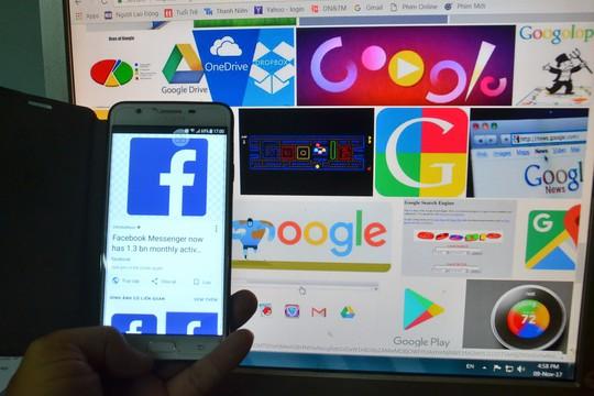 Không khó thu thuế Facebook, Google - Ảnh 1.