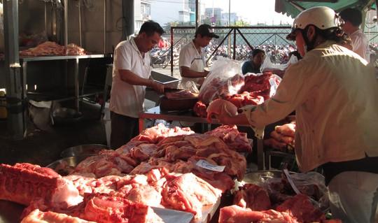 Giá thịt heo giảm từ trước Tết đến nay chưa có dấu hiệu dừng
