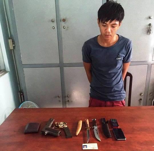 Bắt nghi phạm đâm chết chủ tiệm chim cảnh ở quận Gò Vấp - ảnh 1