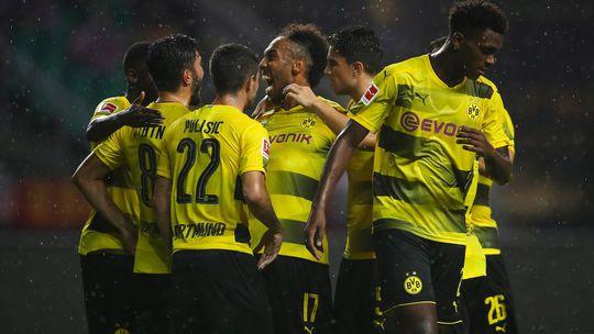 Aubameyang lập cú đúp, Dortmund hạ đẹp Milan - Ảnh 1.