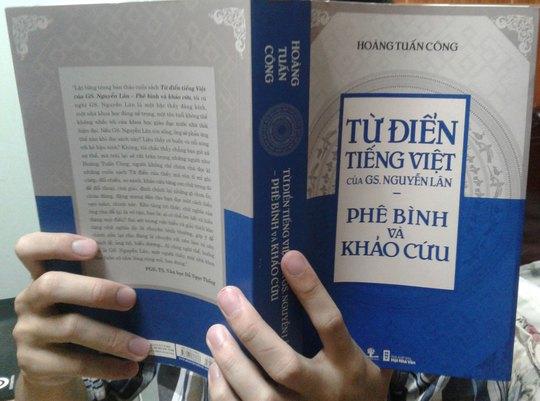 Việc chỉ ra hàng ngàn lỗi trong từ điển của GS Nguyễn Lân: Cần được xem xét nghiêm túc! - Ảnh 1.