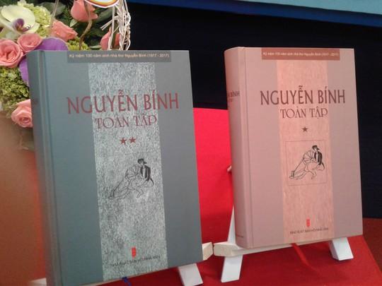 Ra mắt bộ sách Nguyễn Bính toàn tập - Ảnh 1.