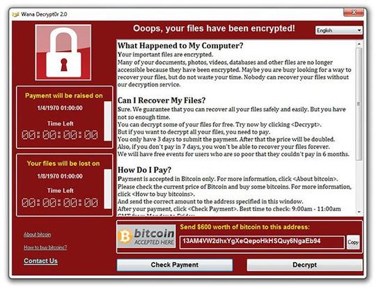 TP HCM ra công văn khẩn ngừa mã độc WannaCry - Ảnh 1.